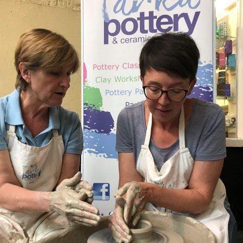 Adult pottery classes North Devon