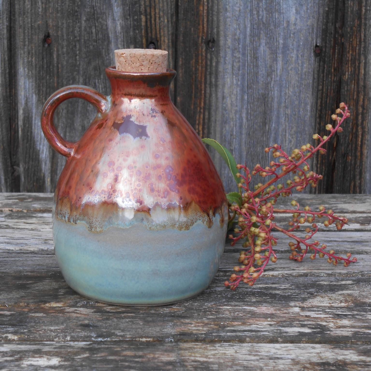 ceramic oil jug